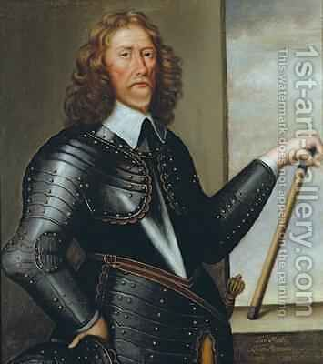 Portrait of Sir Thomas Gascoigne 2nd Baronet by Cornelius de Neve - Reproduction Oil Painting