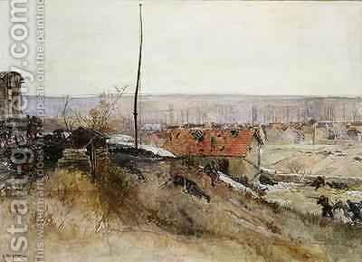 Attack on the Lime Kiln at the Champigny Quarry 2nd December 1870 1881 by Alphonse Marie de Neuville - Reproduction Oil Painting