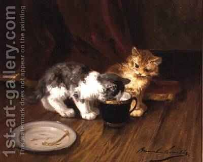 Teatime by Alphonse Marie de Neuville - Reproduction Oil Painting