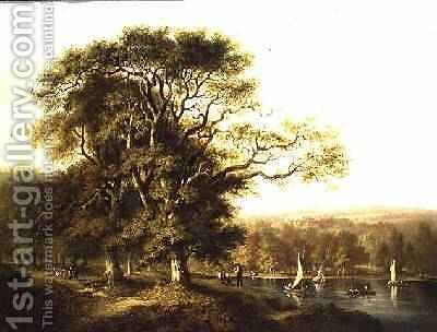 View on The Forth Stirling by Jane Nasmyth - Reproduction Oil Painting