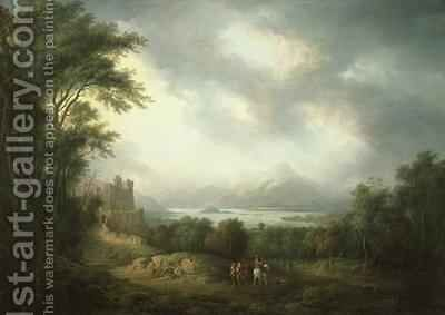 View of Loch Lomond by Alexander Nasmyth - Reproduction Oil Painting