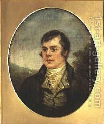 Robert Burns by Alexander Nasmyth - Reproduction Oil Painting
