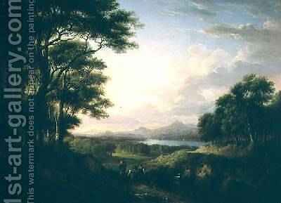 Distant View of Stirling 1827 by Alexander Nasmyth - Reproduction Oil Painting