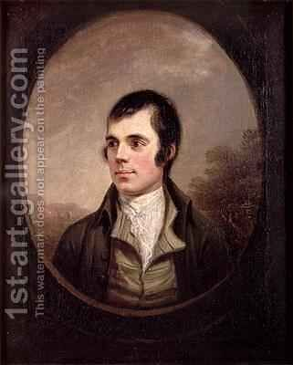 Robert Burns 1759-96 1787 by Alexander Nasmyth - Reproduction Oil Painting