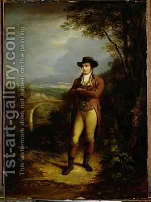 Robert Burns 1759-96 1828 by Alexander Nasmyth - Reproduction Oil Painting