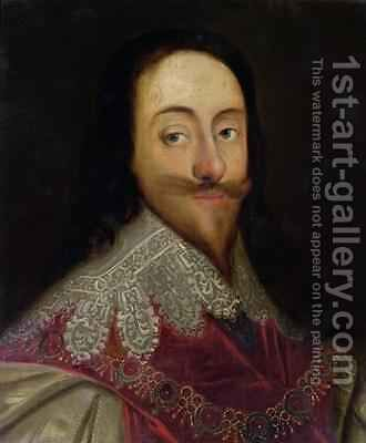 Charles I 1600-49 2 by Daniel Mytens - Reproduction Oil Painting