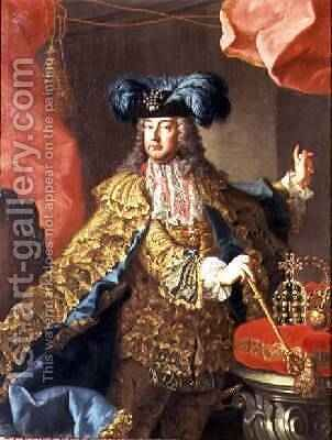 Emperor Franz I Duke of Lothringen by Martin II Mytens or Meytens - Reproduction Oil Painting