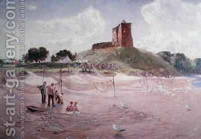 Lunan Sands by David Murray - Reproduction Oil Painting
