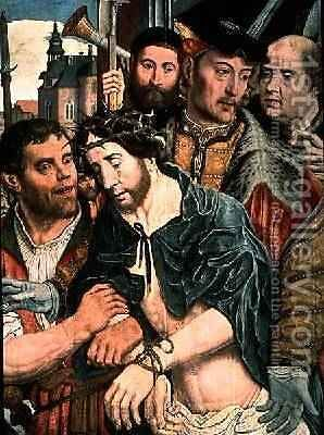 Ecce Homo 1520 by Jan Mostaert - Reproduction Oil Painting