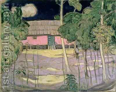 Landscape Trinidad 1921 by James Wilson Morrice - Reproduction Oil Painting
