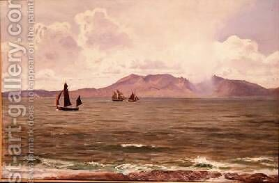 Fishing Boats off the Coast by Henry Moore - Reproduction Oil Painting