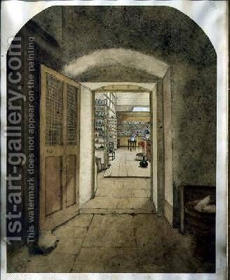 The Big Laboratory viewed from the Dark Room 1860 by Harriet Jane Moore - Reproduction Oil Painting