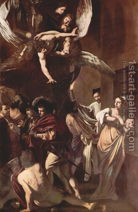 The Seven Acts Of Mercy by Caravaggio - Reproduction Oil Painting