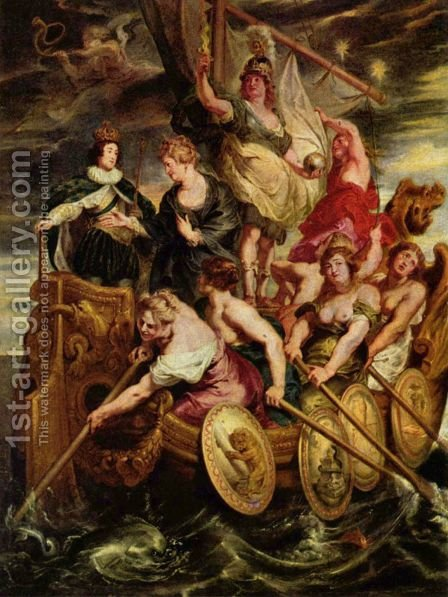 The Majority of Louis XIII by Rubens - Reproduction Oil Painting