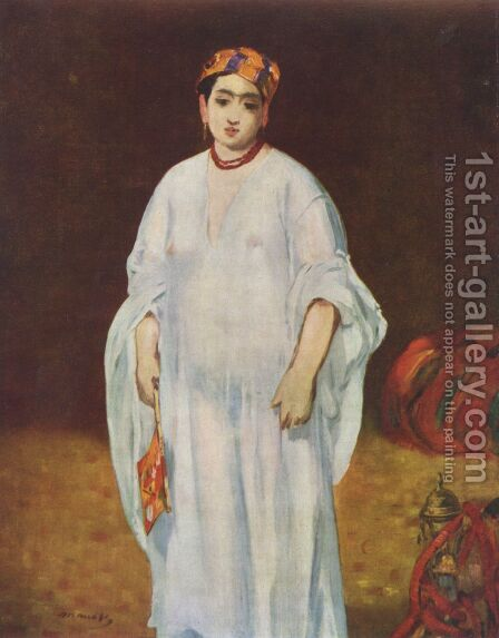 La Sultane by Edouard Manet - Reproduction Oil Painting