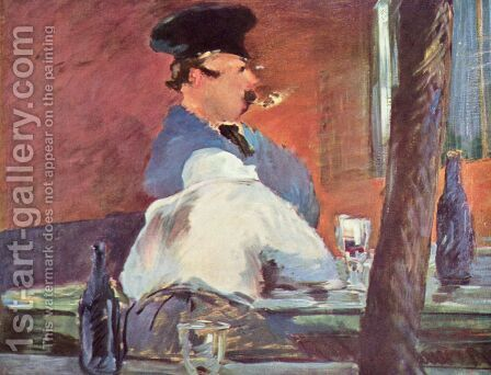 Schenke by Edouard Manet - Reproduction Oil Painting