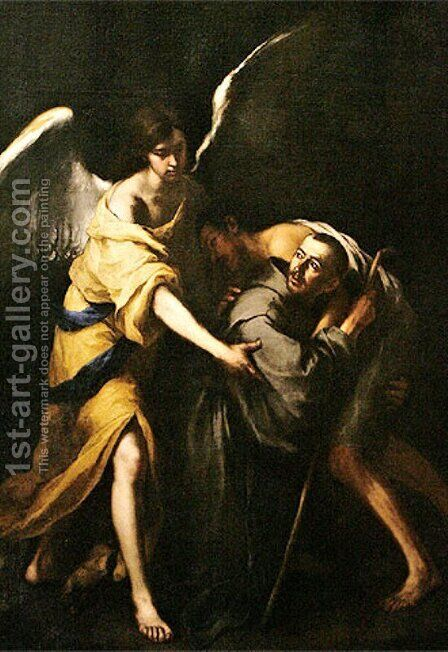 Saint John of God by Bartolome Esteban Murillo - Reproduction Oil Painting