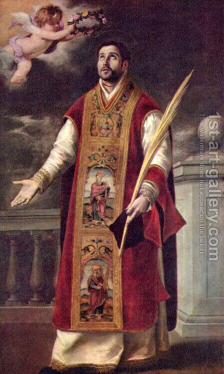 St. Rodriguez by Bartolome Esteban Murillo - Reproduction Oil Painting