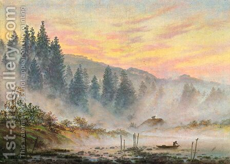 The morning by Caspar David Friedrich - Reproduction Oil Painting