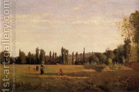 La Varenne-Saint-Hilaire, View from Champigny by Camille Pissarro - Reproduction Oil Painting