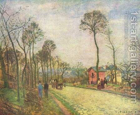 Street by Camille Pissarro - Reproduction Oil Painting