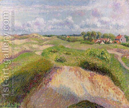 The Dunes at Knocke, Belgium 1 by Camille Pissarro - Reproduction Oil Painting
