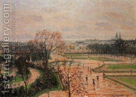 The Tuileries Gardens 3 by Camille Pissarro - Reproduction Oil Painting