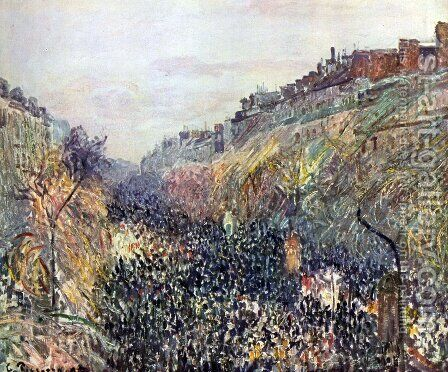 untitled by Camille Pissarro - Reproduction Oil Painting