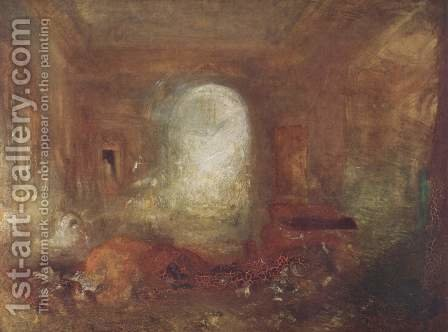 Interieur in the Petworth House by Turner - Reproduction Oil Painting