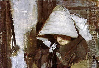 Old Anne by Anders Zorn - Reproduction Oil Painting