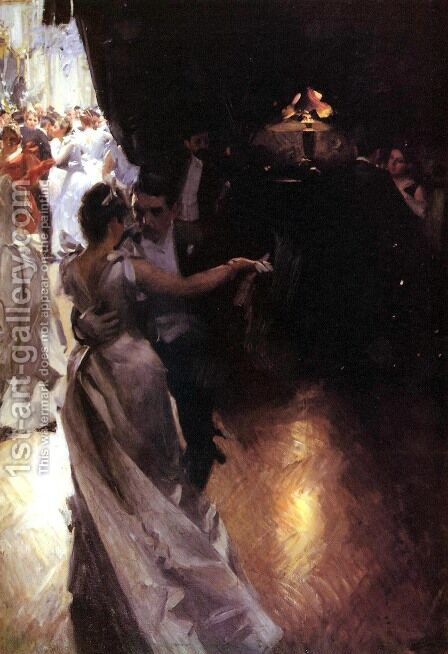 Valser by Anders Zorn - Reproduction Oil Painting