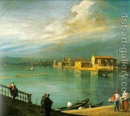 San Cristoforo, San Michele and Murano by (Giovanni Antonio Canal) Canaletto - Reproduction Oil Painting