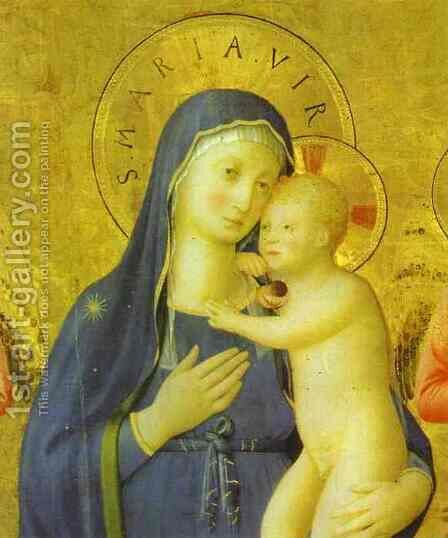 Bosco ai Frati Altarpiece by Angelico Fra - Reproduction Oil Painting