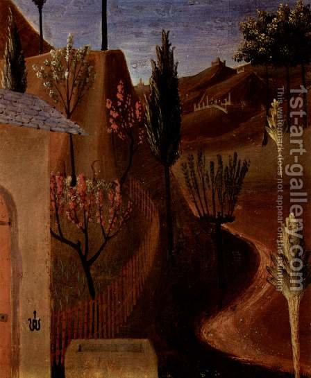 Christ in the Garden of Gethsemane, detail by Angelico Fra - Reproduction Oil Painting