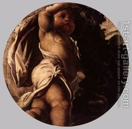 Autumn by Jacopo Tintoretto (Robusti) - Reproduction Oil Painting