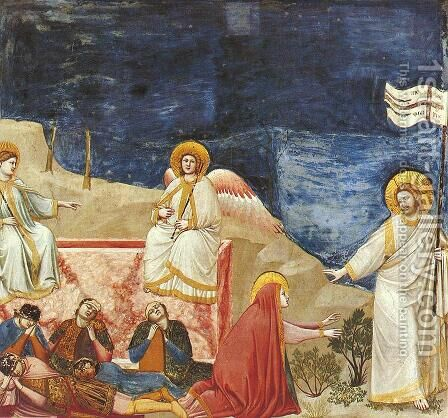 Scrovegni 37 by Giotto Di Bondone - Reproduction Oil Painting