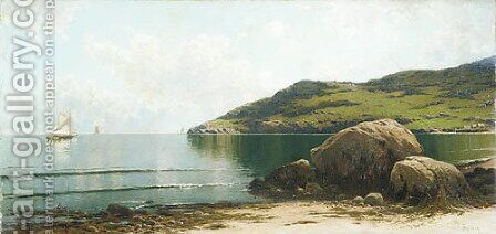 Marine Landscape by Alfred Thompson Bricher - Reproduction Oil Painting