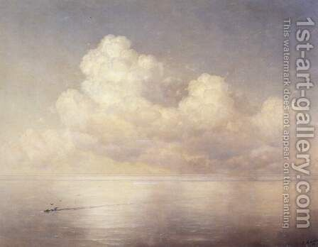 Clouds by Ivan Konstantinovich Aivazovsky - Reproduction Oil Painting