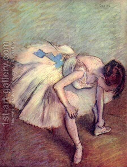 Dancer 5 by Edgar Degas - Reproduction Oil Painting