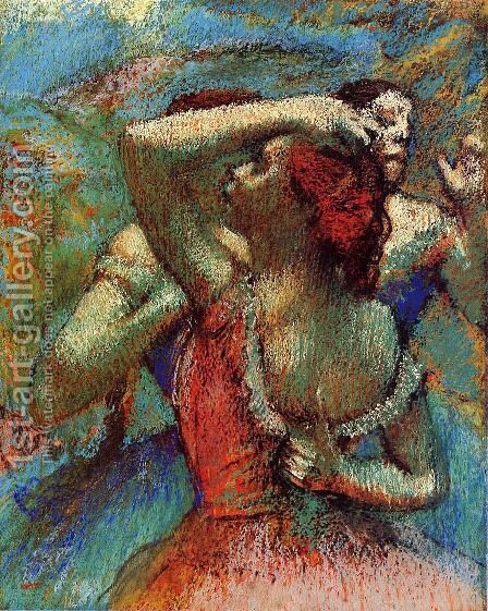 Dancers 6 by Edgar Degas - Reproduction Oil Painting