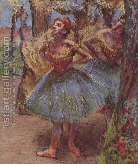 Dancers 9 by Edgar Degas - Reproduction Oil Painting