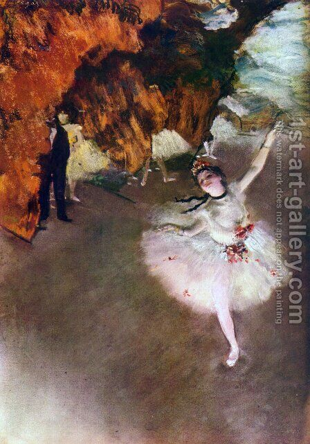 The Primaballerina by Edgar Degas - Reproduction Oil Painting