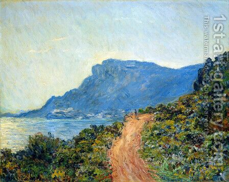 Claude La Corniche Sun by Claude Oscar Monet - Reproduction Oil Painting