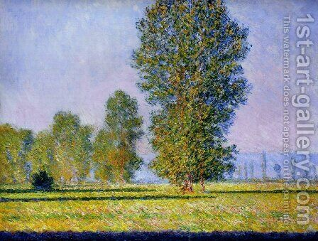 Meadow at Limetz by Claude Oscar Monet - Reproduction Oil Painting