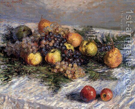 Still Life by Claude Oscar Monet - Reproduction Oil Painting