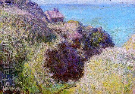 The Gorge at Varengeville, Late Afternoon by Claude Oscar Monet - Reproduction Oil Painting