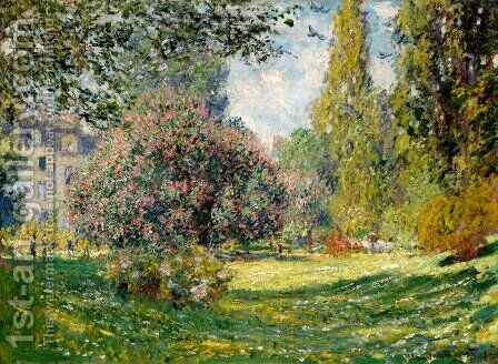 The Parc Monceau, Paris 1 by Claude Oscar Monet - Reproduction Oil Painting