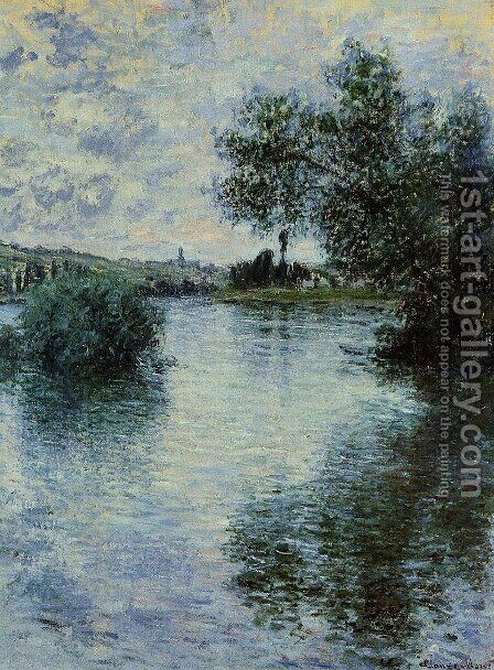 The Seine at Vetheuil 1 by Claude Oscar Monet - Reproduction Oil Painting