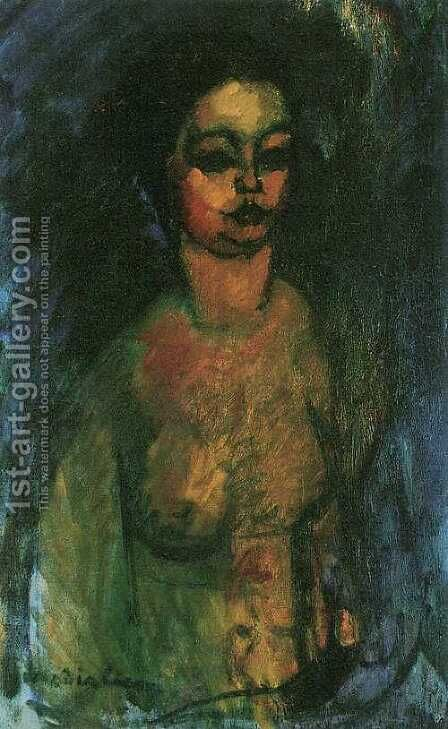 Act (Little Jeanne) by Amedeo Modigliani - Reproduction Oil Painting