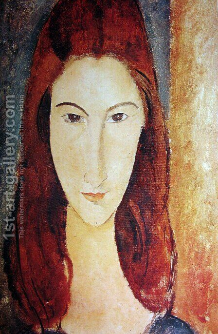 Jeanne Hebuterne 2 by Amedeo Modigliani - Reproduction Oil Painting